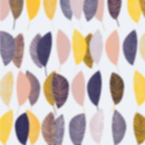 Behrendt Graphic Design pattern fabric design leaves