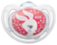 Linn Behrendt designer soother illustration Schnuller for NUK-bunny-Hase