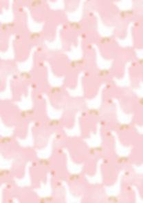 Behrendt Graphic Design pattern fabric design goose