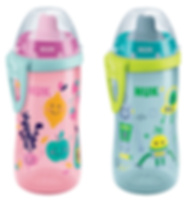 Behrendt Graphic Design bottle illustration fruits and monsters for NUK