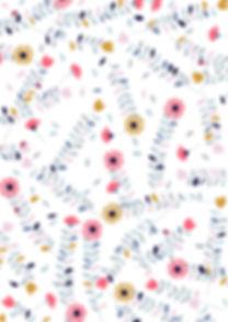 Behrendt Graphic Design pattern fabric design flowers