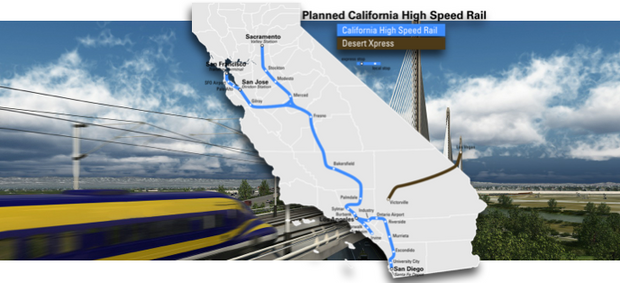 High speed rail authority business plan