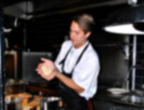 Raspeball Recipe with Mats Vaulen at Trattoria Popolare, Oslo, Norway