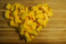 pumpkin heart, carmelized pumpkin recipe, Lebanon