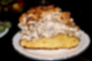 Matea's Walnut Merginue Cake at Konoba Bokuncin in Sutivan, Brač, Croatia