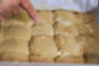 dough rising, manaeesh recipe, beirut, lebanon