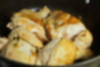 Browning chicken, Moghrabieh Recipe, Lebanese food, Beirut, Lebanon