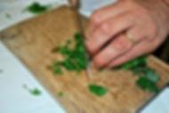 Cutting Parsley, Punjene Paprike (Stuffed Peppers) & Sarma (Stuffed Collard Greens) Recipe, Croatia