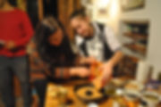 Carob Cake Recipe, Diren and Karime