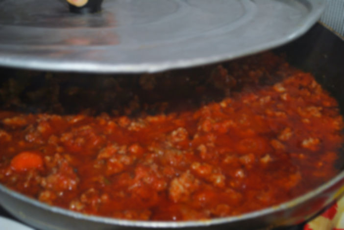 Sausage and Lentils with Red Sauce Recipe