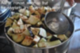 Remove or add some water to make sure Eggplant are covered with water - Marietta's Calabrese Braciole di Melanzane Recipe Photos