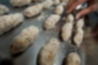 Baking louzina cookies, Soumaya's Louzina, Lebanese cookie recipe