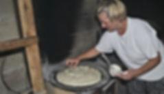 Oiling Mixing Bowl, Maritza's Peka Bread Recipe, Imotski, Croatia