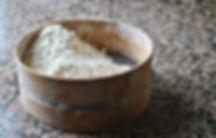 Sifting Flour, Maritza's Peka Bread Recipe, Imotski, Croatia