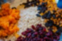 Luci Energy Balls Ingredients, Souk El Tayeb, Beirut, Lebanon