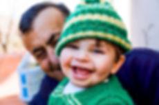 Lebanese boy smiling