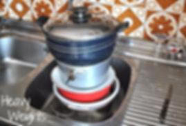 Applying even more pressure to the strained eggplants - Marietta's Calabrese Braciole di Melanzane Recipe Photos