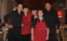 Staff at L'Antica Rupe, Orvieto, Italy