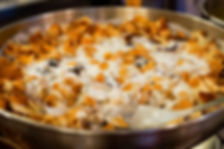 FATTET BATENJAIN, lebanese fried eggplant and yogurt recipe, the recipe hunters in lebanon