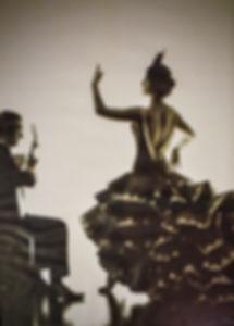 Candela Flores Dancing Flamenco