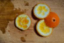 orange rind, carmelized pumpkin recipe, Lebanon