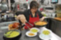 Mamma Angela Preparing Pastas at L'Antica Rupe Restaurant in Orvieto, Italy