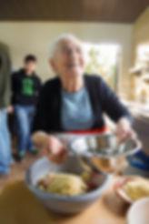 Lebanese Grandmother Cooking Kibbeh Nayyeh