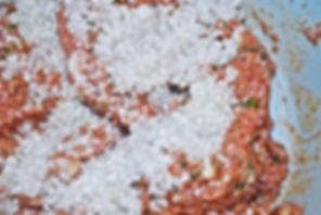 Adding Rice, Punjene Paprike (Stuffed Peppers) & Sarma (Stuffed Collard Greens) Recipe, Croatia