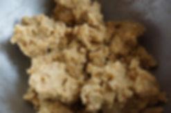 Adding Flour; Pasta Rasa in Brodo Recipe, Reggio Emilia, Italy