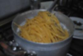Boiling Pasta - Truffle Spaghetti Recipe