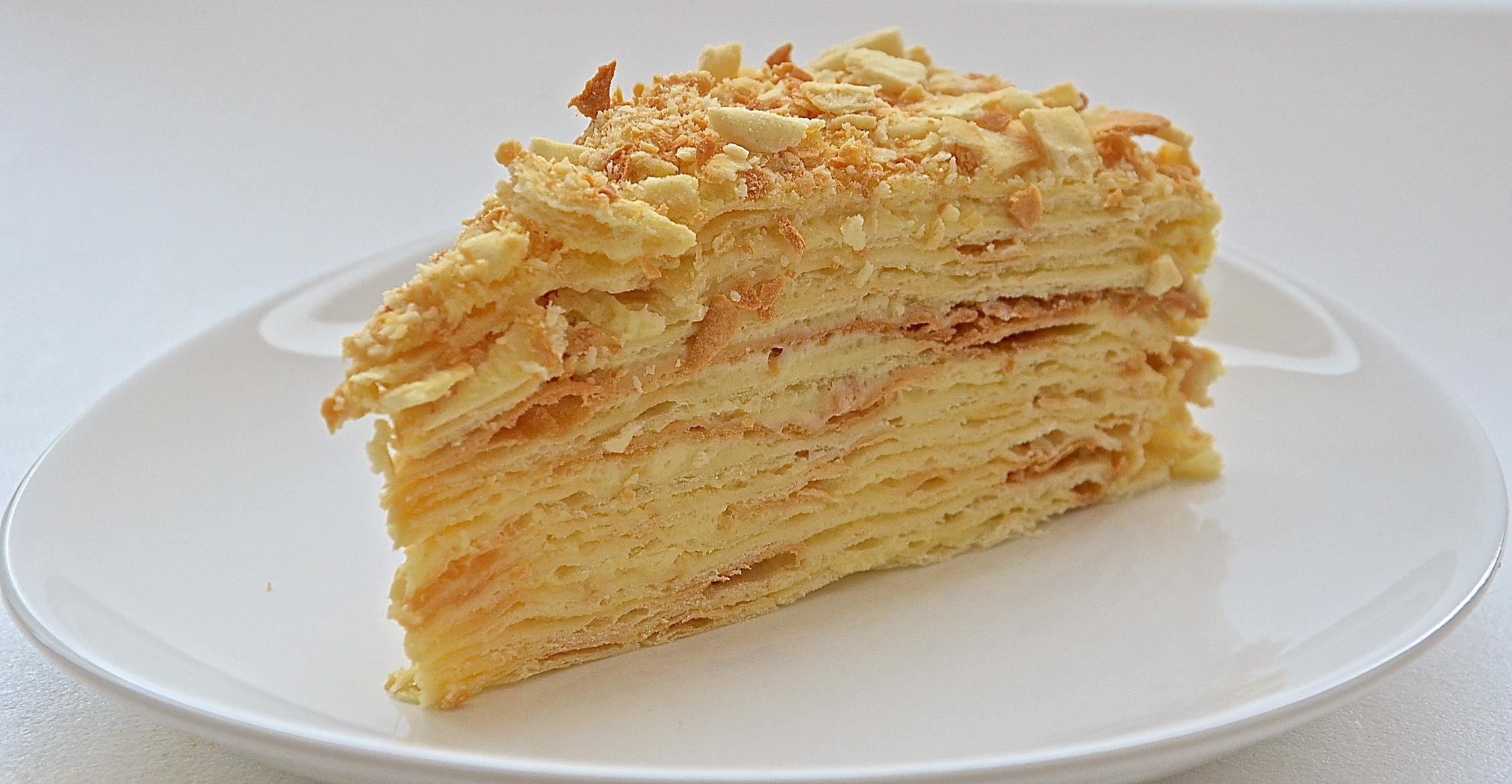 Рецепт торта с фото наполеон
