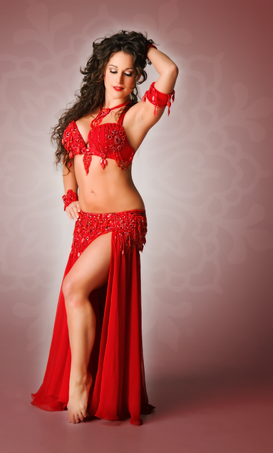 Red Bella Belly Dance Costume Sale Ruby Beh Dancing Bellydancing