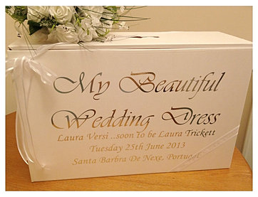 Wedding dress travel boxes dress travel boxes acid for Acid free box for wedding dress