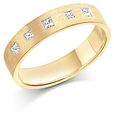 yellow gold wedding rings for her - Gold Wedding Rings For Her
