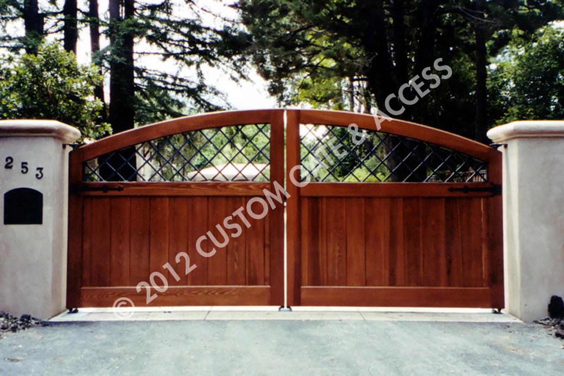 Custom gate access inc for Driveway gates online
