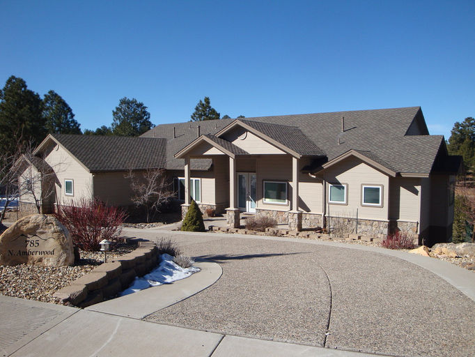 Rkm construction llc building contractor flagstaff az for Building a house in arizona
