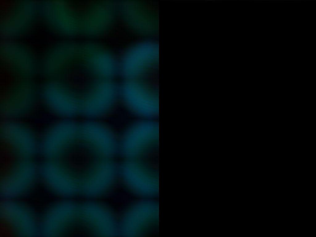 Fading Blue Doughnuts Grid