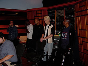 Recording with Xtina