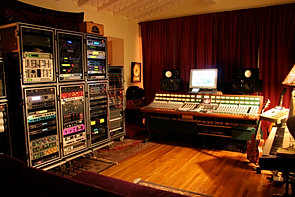 Hollywood Hills studio