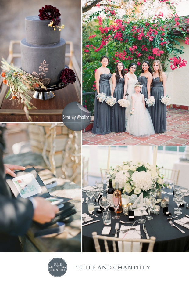 Pantone Color of the Week ~ Stormy Weather} | Soirees Southern ...