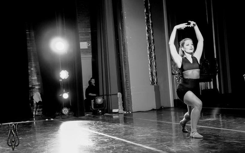 Missouri Contemporary BalletSonata for Two Violins and Three DancersChoreographer: Karen GrundyPhotographer: Anthony SaponeMarch 2014