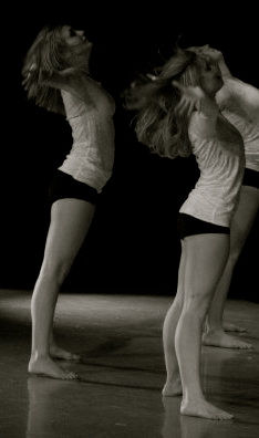 Counterbalance: A Senior Dance ShowcaseInvincible RealityDecember 2008Choreography: Colleen Towler & Lauren HeltsleyPhoto: Shauna Steele