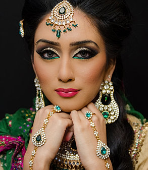 Asian Bridal Makeup Artist Manchester, Asian Bride Makeup