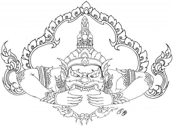 Khmer pride tattoo