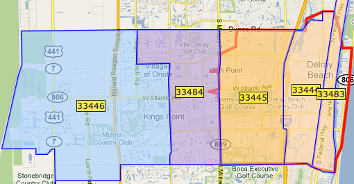 Zip code delray beach florida