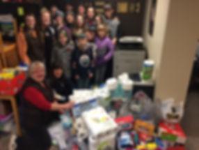 2018 Caroline School Socktoberfest Donat