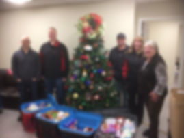 2019 Dec 18 -Canlin Energy Food Donation