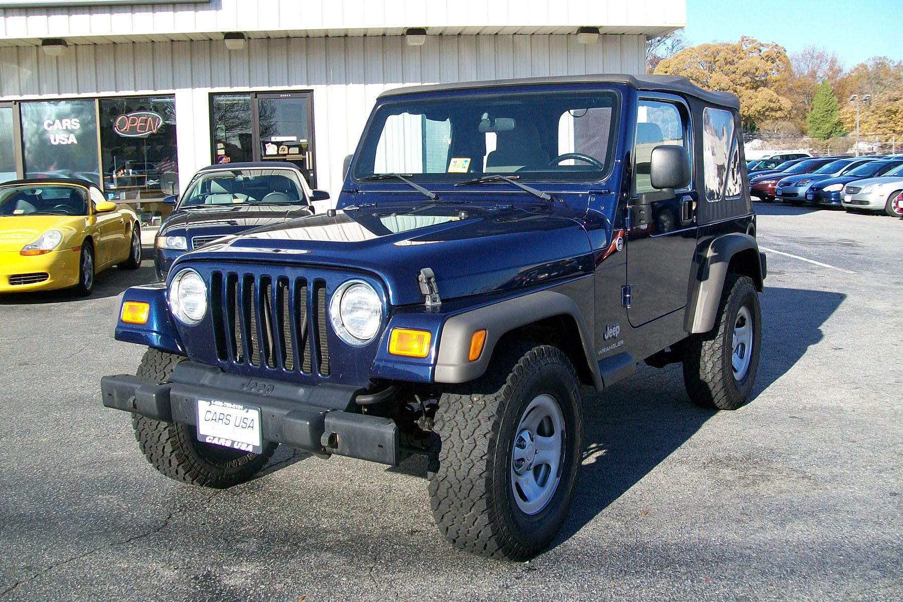 Military Auto Loans Best Cars deals Virginia Beach Oceana Norfolk NOB   2005 Jeep Wrangler X.jpg