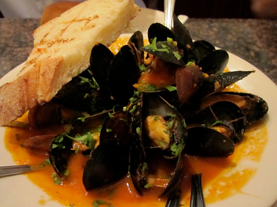 Mussles Appetizer