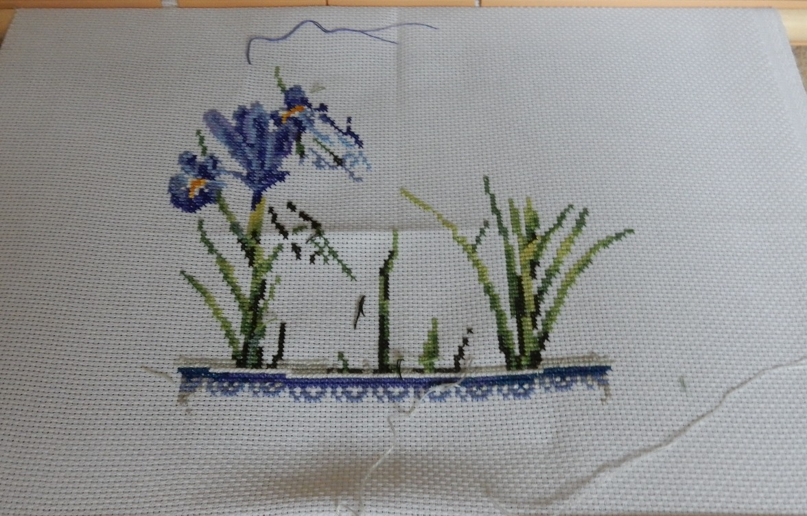 DMC Irises Kit number CK4151